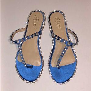 """""""Jewel"""" Badgley Mischka Sandals"""